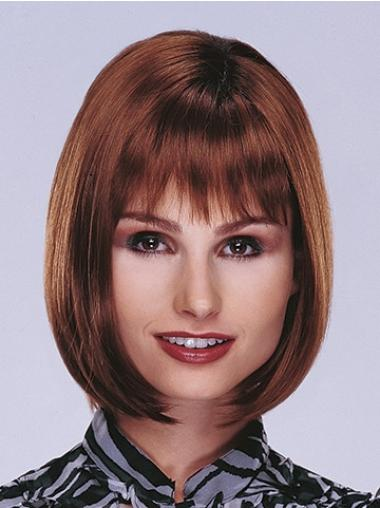 Straight Auburn Bobs Gorgeous Lace Front Wigs