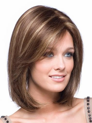 Bobs Straight Brown Fabulous Petite Wigs