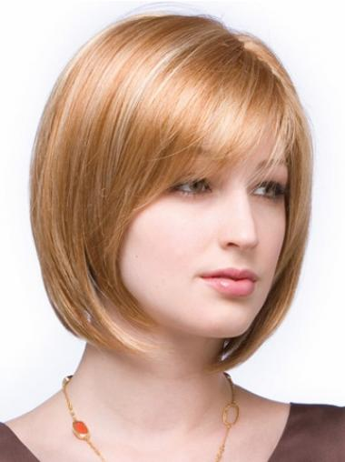 Online Auburn Bobs Straight Medium Wigs