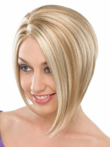 Synthetic Straight No-fuss Bob Wigs