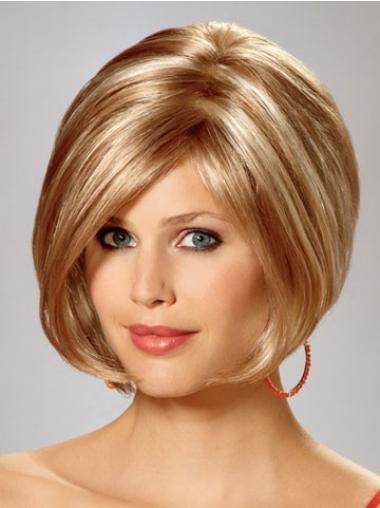 Straight Blonde Exquisite Bob Wigs