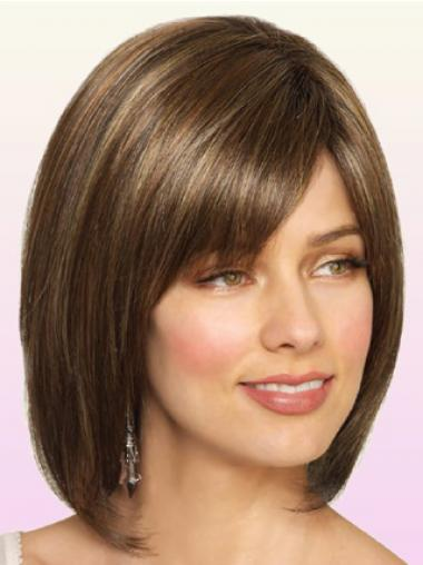 Brown Bobs Synthetic Online Medium Wigs