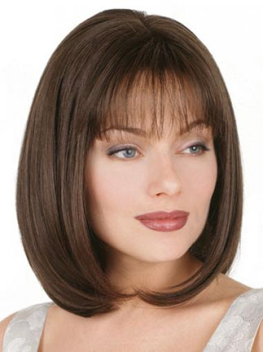 Bobs Straight Brown Cheapest Petite Wigs