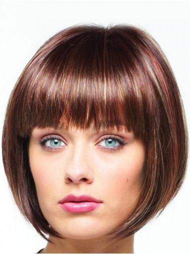 Bobs Auburn Straight Discount Celebrity Wigs