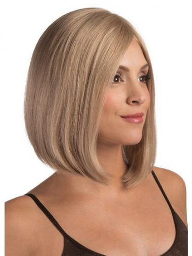 Straight Blonde Fashion Remy Human Lace Wigs