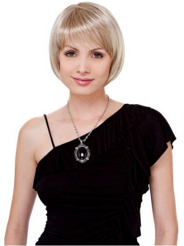 Bobs Blonde Straight Great Petite Wigs