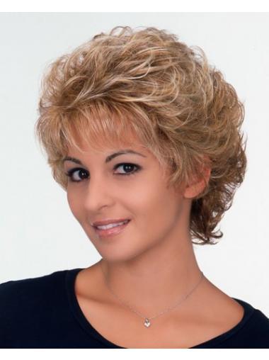 Blonde Classic Curly Natural Classic Wigs