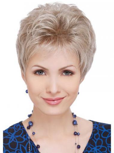 Blonde Layered Wavy Fashion Celebrity Wigs