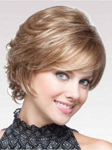 Blonde Layered Wavy Fashion Classic Wigs