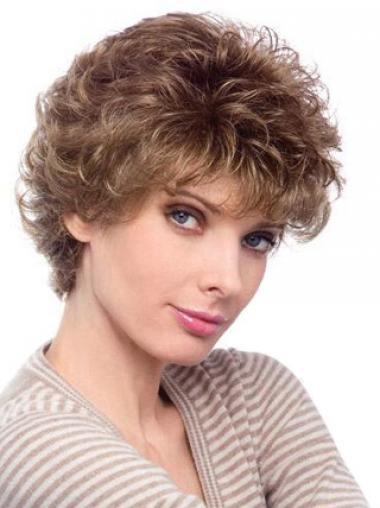 Auburn Layered Curly Top Classic Wigs