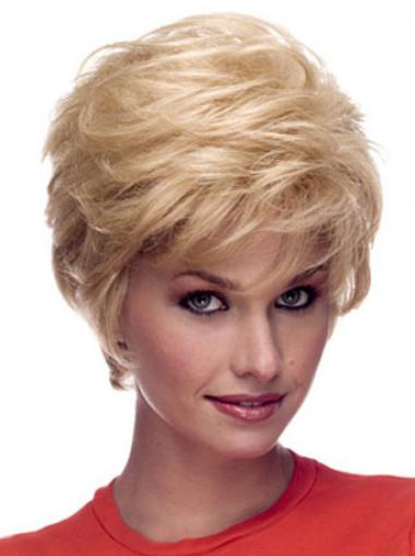 Blonde Wavy Layered Incredible Celebrity Wigs