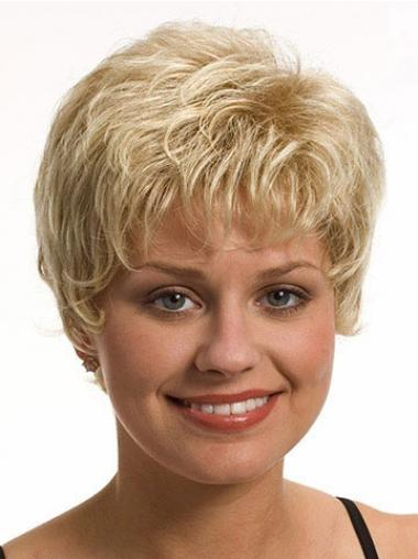 Blonde Boycuts Beautiful Short Wigs