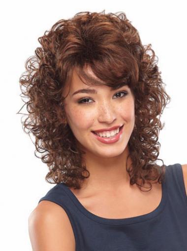 Auburn Classic Curly Popular Classic Wigs