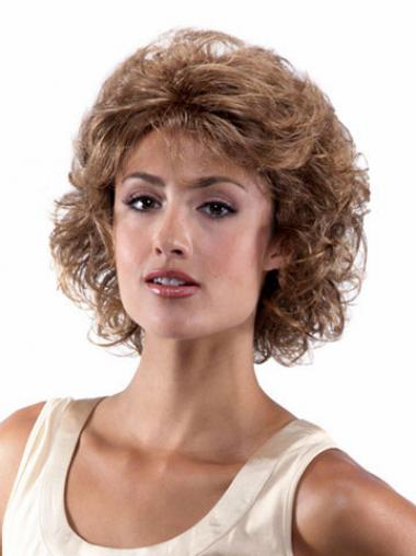 Brown Classic Curly Exquisite Classic Wigs
