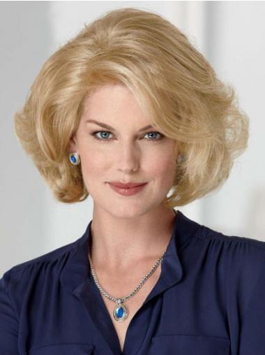 Blonde Classic Wavy Comfortable Classic Wigs