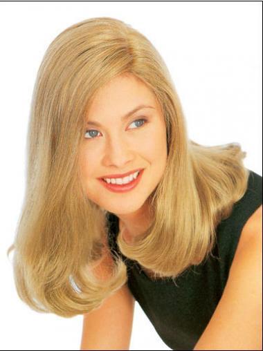 Blonde Straight Popular Medium Wigs