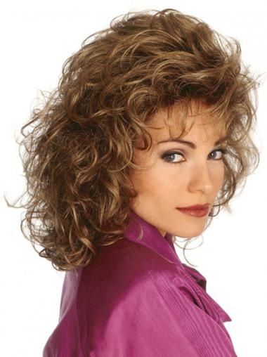 Brown Classic Curly Great Classic Wigs
