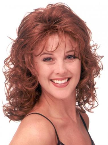 Red Classic Curly Gorgeous Classic Wigs