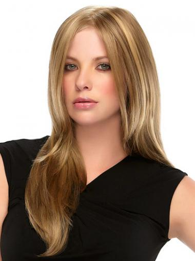 Blonde Straight Top Long Wigs
