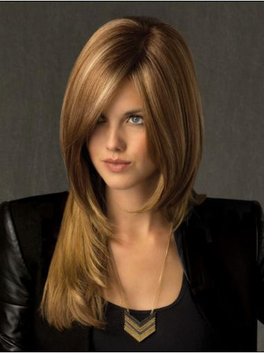 Lace Front Blonde Straight Cheapest Celebrity Wigs
