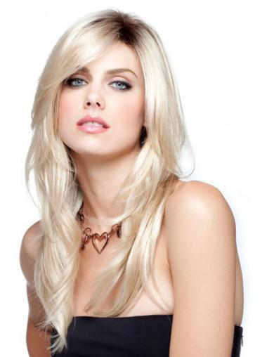 Straight Blonde Gorgeous Long Wigs