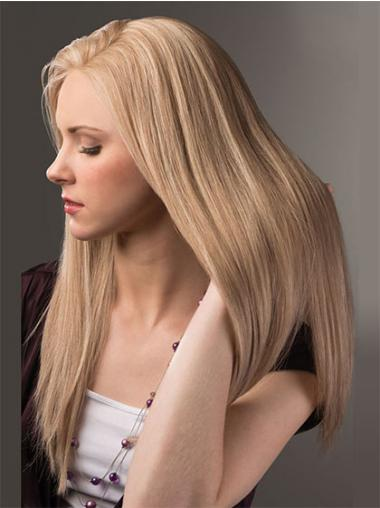 Blonde Straight New Remy Human Lace Wigs