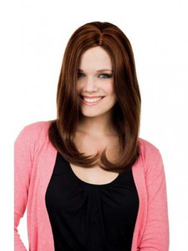 Auburn Lace Front Straight High Quality Long Wigs