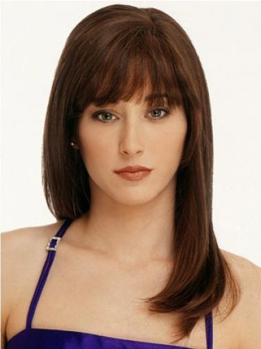 Remy Human Hair Auburn Affordable Long Wigs
