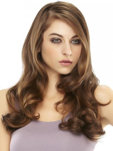 Auburn Wavy Trendy Hair Falls & Half
