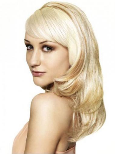 Wavy Blonde Exquisite Wigs/Human Hair Wigs & Half Wigs