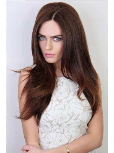 Auburn Straight Good Wigs/Human Hair Wigs & Half Wigs