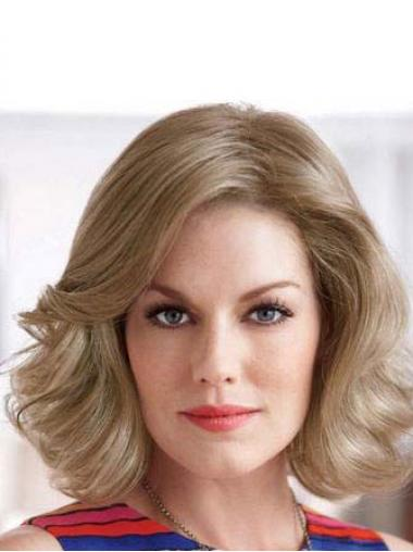 Blonde Wavy Style Classic Wigs
